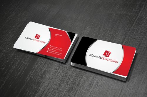Steinlin Consulting Business Cards and Stationery  Draft # 200 by Deck86