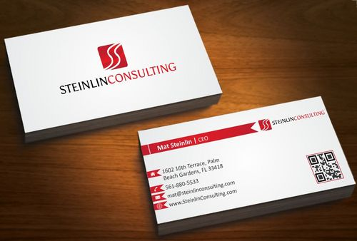 Steinlin Consulting Business Cards and Stationery  Draft # 209 by designdoctor