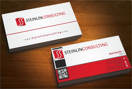 Steinlin Consulting Business Cards and Stationery  Draft # 210 by designdoctor