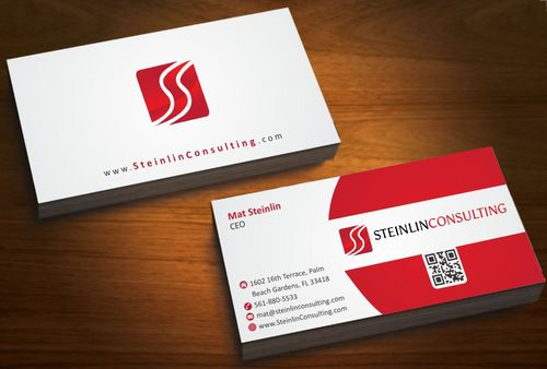 Steinlin Consulting Business Cards and Stationery  Draft # 211 by designdoctor
