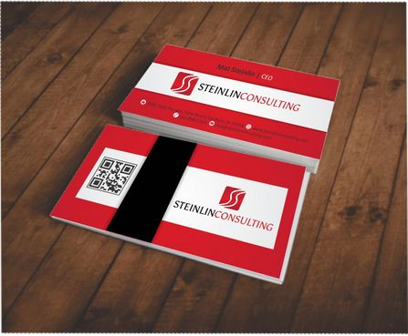 Steinlin Consulting Business Cards and Stationery  Draft # 212 by designdoctor