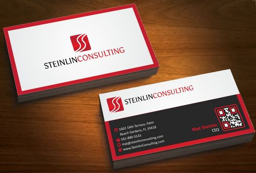Steinlin Consulting Business Cards and Stationery  Draft # 213 by designdoctor