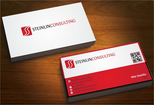 Steinlin Consulting Business Cards and Stationery  Draft # 214 by designdoctor