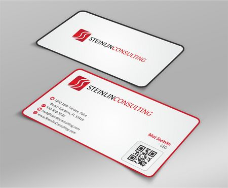 Steinlin Consulting Business Cards and Stationery  Draft # 217 by designdoctor