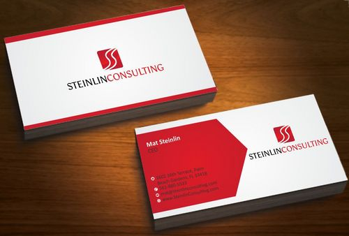 Steinlin Consulting Business Cards and Stationery  Draft # 219 by designdoctor
