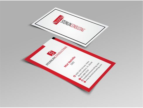 Steinlin Consulting Business Cards and Stationery  Draft # 220 by designdoctor