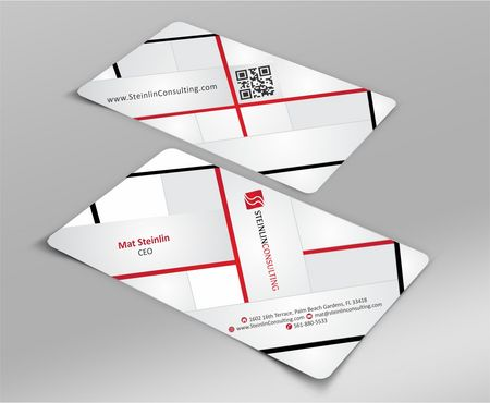 Steinlin Consulting Business Cards and Stationery  Draft # 221 by designdoctor
