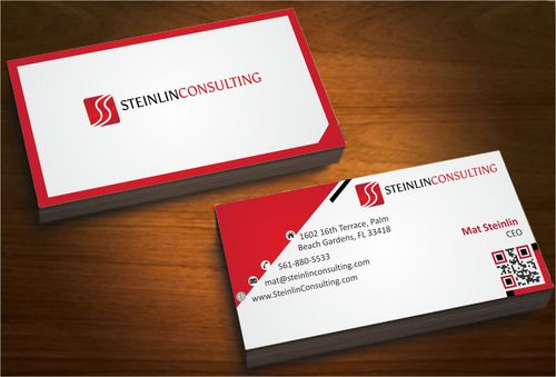 Steinlin Consulting Business Cards and Stationery  Draft # 222 by designdoctor