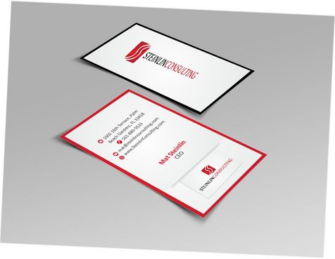 Steinlin Consulting Business Cards and Stationery  Draft # 223 by designdoctor