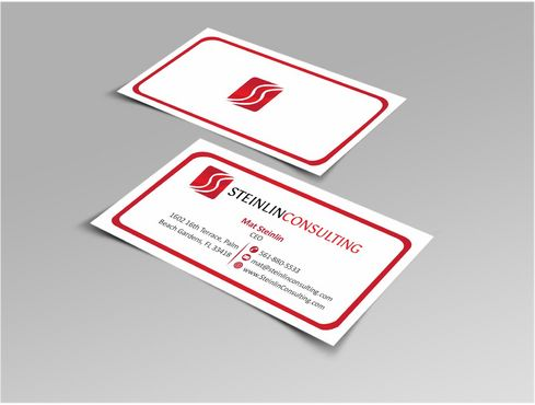 Steinlin Consulting Business Cards and Stationery  Draft # 224 by designdoctor