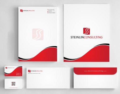 Steinlin Consulting Business Cards and Stationery  Draft # 226 by Deck86