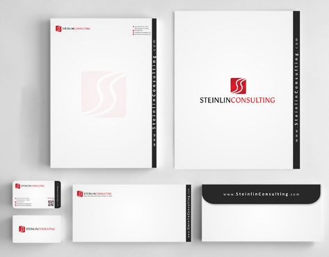Steinlin Consulting Business Cards and Stationery  Draft # 233 by designdoctor