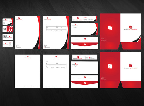 Steinlin Consulting Business Cards and Stationery  Draft # 238 by Xpert