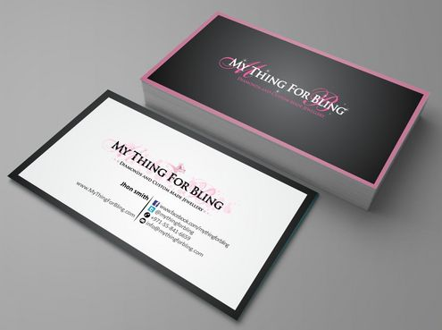 Online store  Business Cards and Stationery  Draft # 86 by Deck86