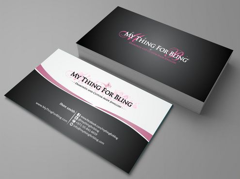 Online store  Business Cards and Stationery  Draft # 94 by Deck86