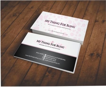 Online store  Business Cards and Stationery  Draft # 95 by Deck86