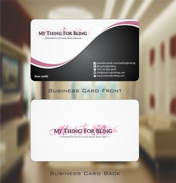 Online store  Business Cards and Stationery  Draft # 98 by Deck86