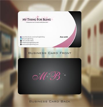 Online store  Business Cards and Stationery  Draft # 106 by Deck86