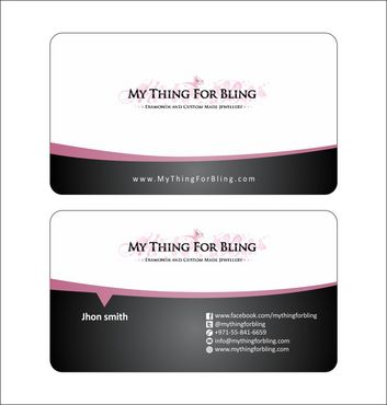 Online store  Business Cards and Stationery  Draft # 118 by Deck86