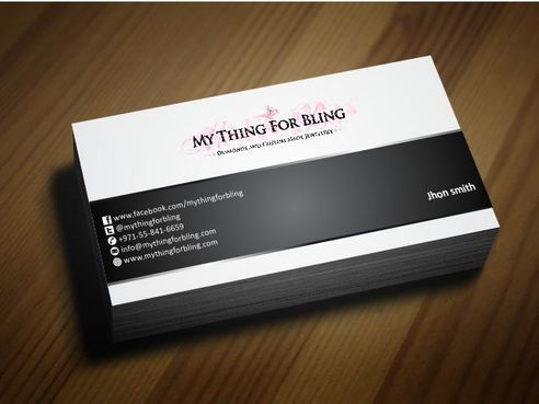Online store  Business Cards and Stationery  Draft # 119 by Deck86