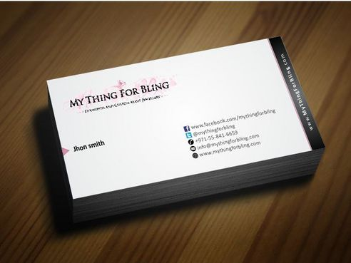 Online store  Business Cards and Stationery  Draft # 123 by Deck86