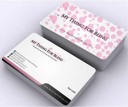 Online store  Business Cards and Stationery  Draft # 129 by Deck86