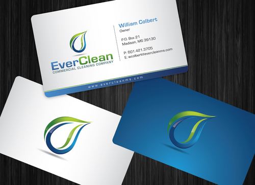 EverClean Business Cards and Stationery  Draft # 60 by GenBullzzzz
