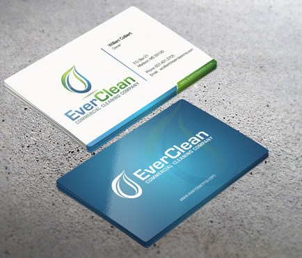 EverClean Business Cards and Stationery  Draft # 61 by i3designer
