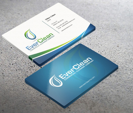 EverClean Business Cards and Stationery  Draft # 63 by i3designer