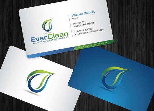 EverClean Business Cards and Stationery  Draft # 65 by GenBullzzzz