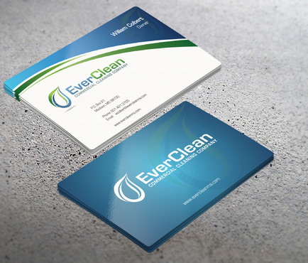 EverClean Business Cards and Stationery  Draft # 72 by i3designer