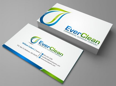 EverClean Business Cards and Stationery  Draft # 120 by Deck86