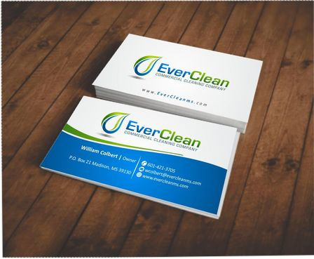 EverClean Business Cards and Stationery  Draft # 124 by Deck86