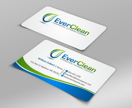 EverClean Business Cards and Stationery  Draft # 131 by Deck86