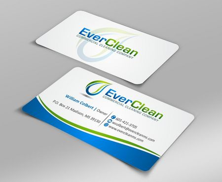 EverClean Business Cards and Stationery  Draft # 133 by Deck86
