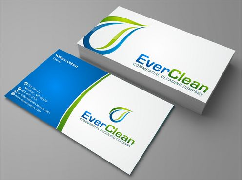 EverClean Business Cards and Stationery  Draft # 137 by Deck86