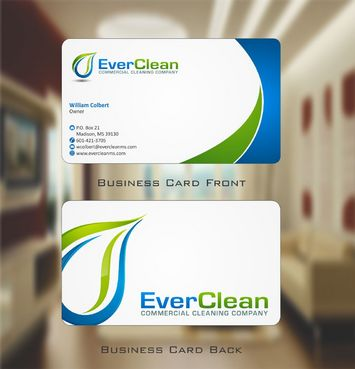 EverClean Business Cards and Stationery  Draft # 138 by Deck86