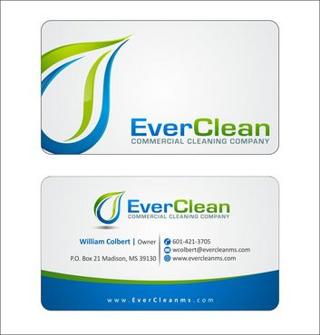 EverClean Business Cards and Stationery  Draft # 152 by Deck86