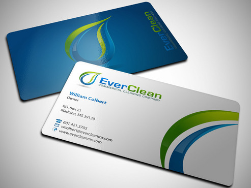 EverClean Business Cards and Stationery  Draft # 167 by Xpert