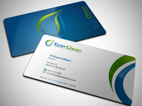 EverClean Business Cards and Stationery  Draft # 171 by Xpert
