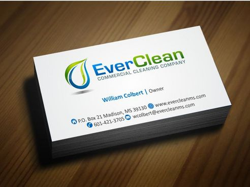 EverClean Business Cards and Stationery  Draft # 187 by Deck86