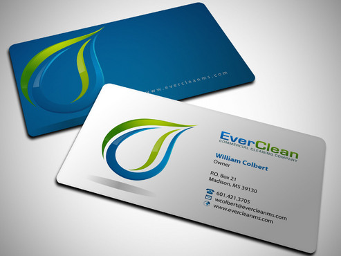 EverClean Business Cards and Stationery  Draft # 207 by Xpert