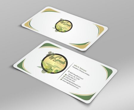 Business cards and stationery of an Olive Oil Company Business Cards and Stationery  Draft # 136 by Deck86