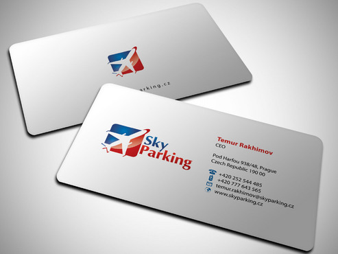 Sky Parking s.r.o. Business Cards and Stationery  Draft # 8 by Xpert