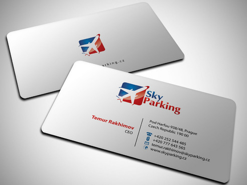 Sky Parking s.r.o. Business Cards and Stationery  Draft # 11 by Xpert