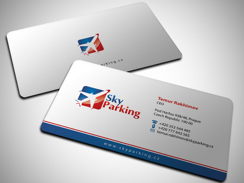 Sky Parking s.r.o. Business Cards and Stationery  Draft # 13 by Xpert