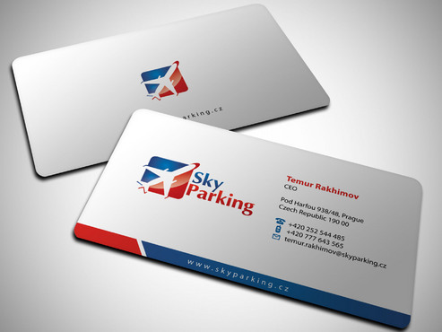 Sky Parking s.r.o. Business Cards and Stationery  Draft # 16 by Xpert