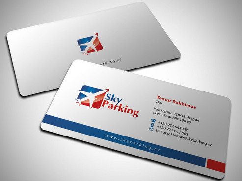 Sky Parking s.r.o. Business Cards and Stationery  Draft # 17 by Xpert