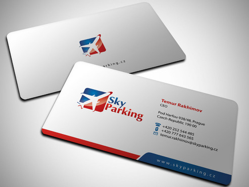 Sky Parking s.r.o. Business Cards and Stationery  Draft # 19 by Xpert
