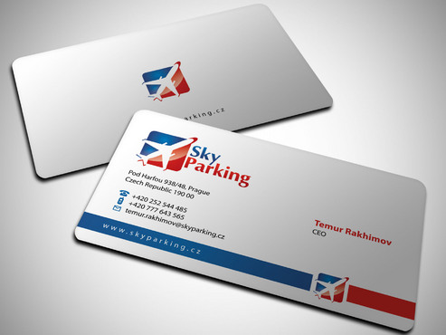 Sky Parking s.r.o. Business Cards and Stationery  Draft # 21 by Xpert